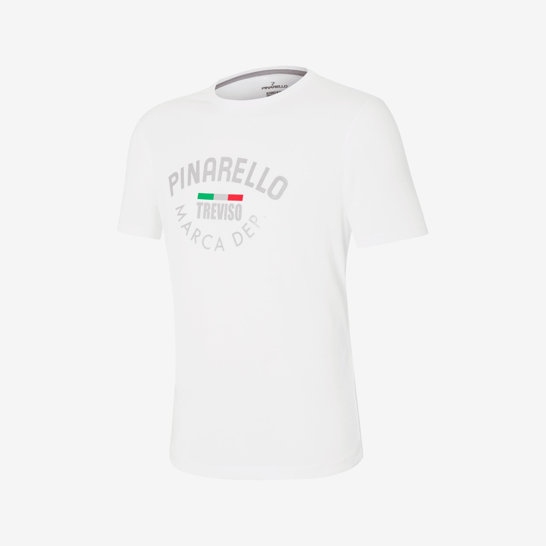 T-Shirt Heritage Logo White