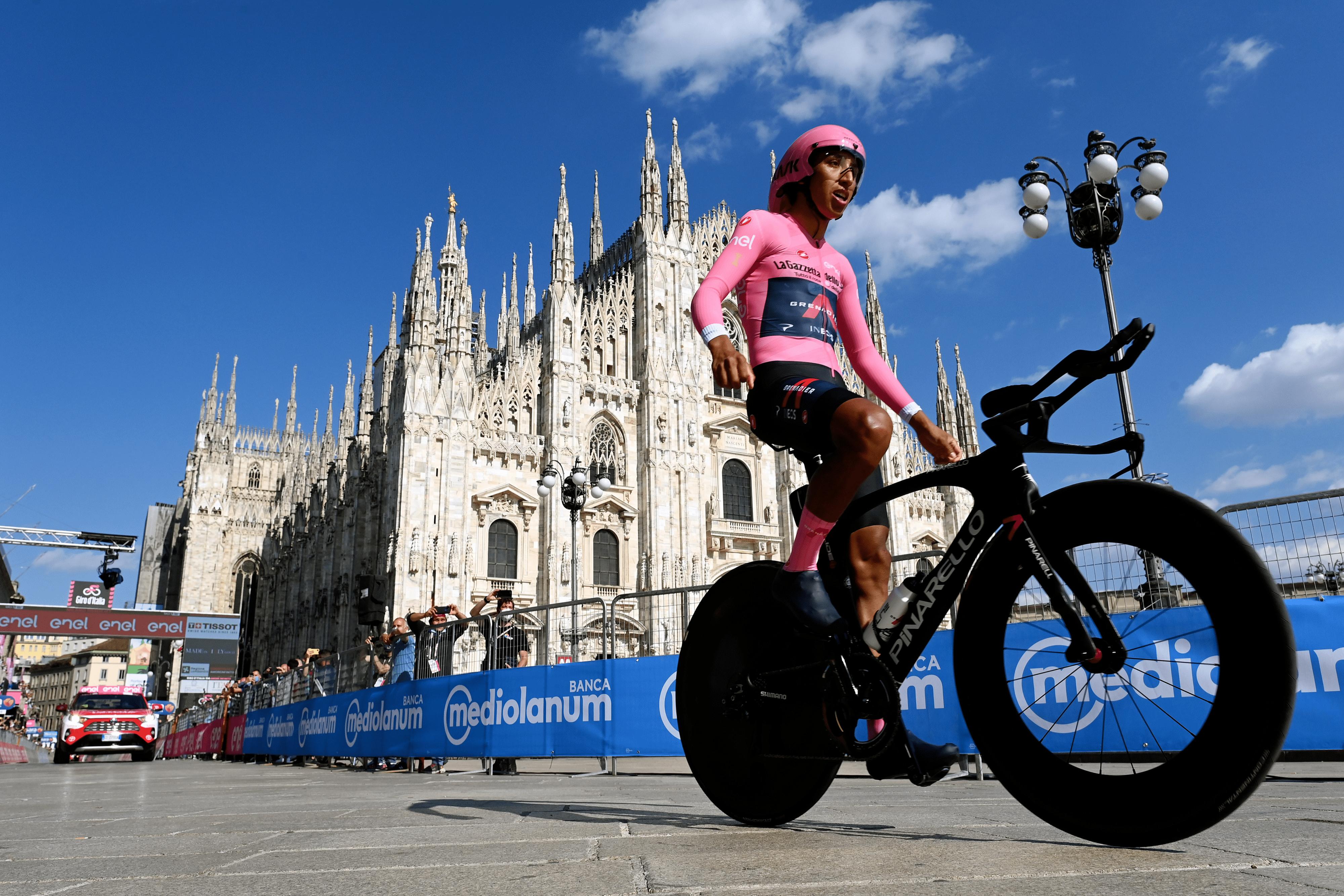 Egan Bernal wins the 2021 Giro d'Italia
