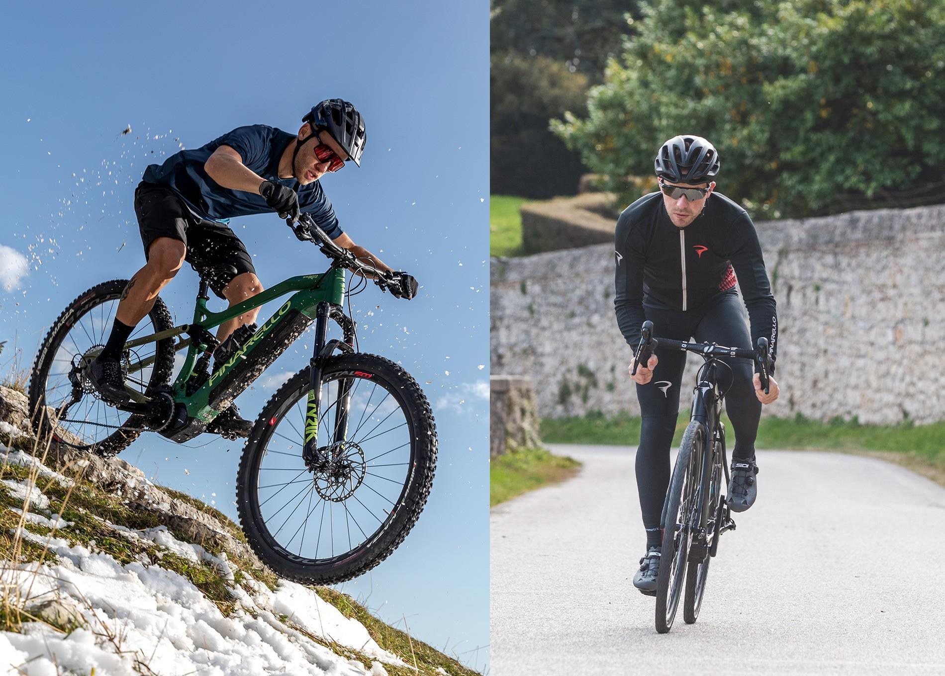 The New Pinarello E-bike range