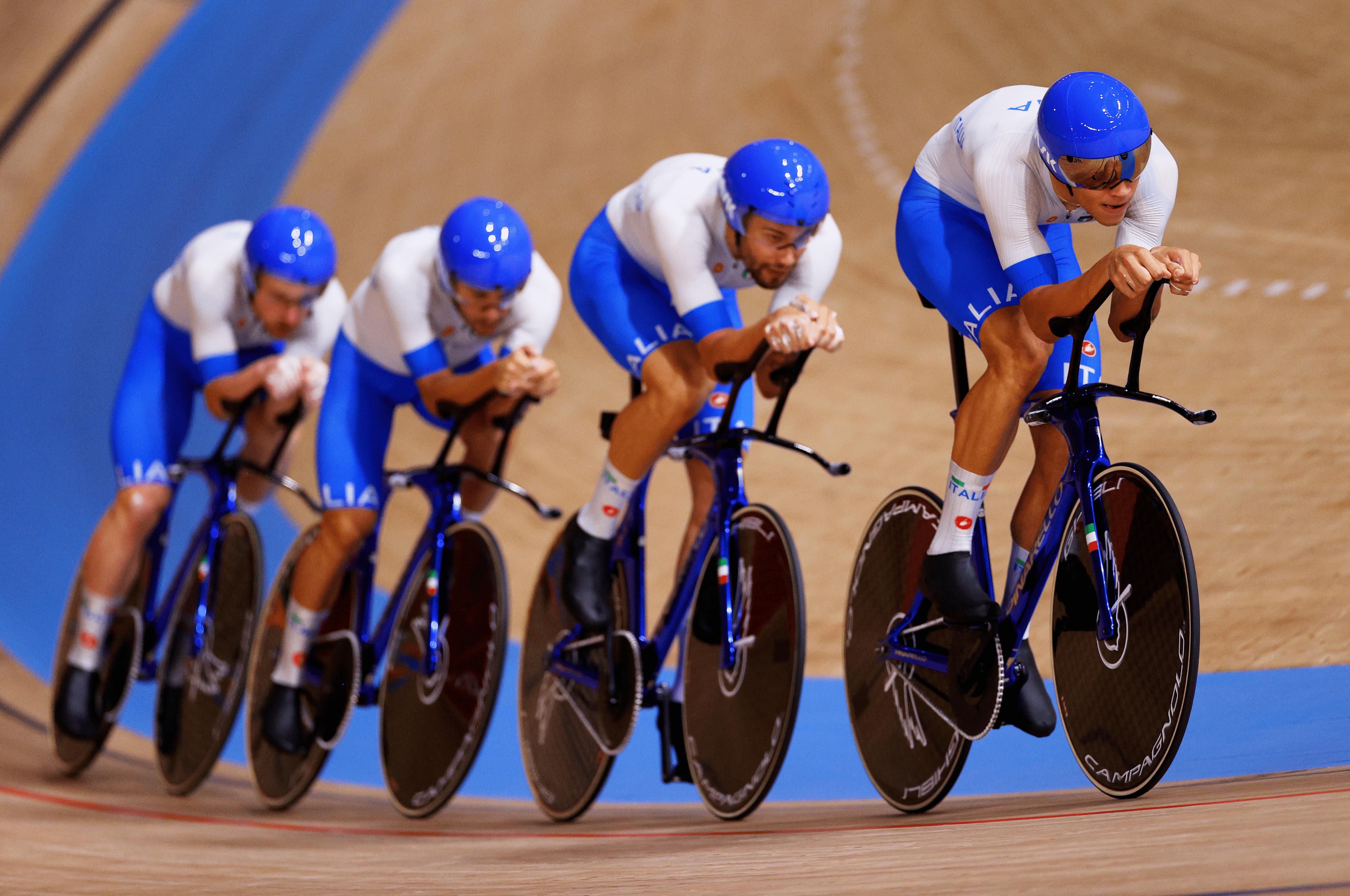 L'Italia è la vincitrice dell'Oro nel quartetto olimpico