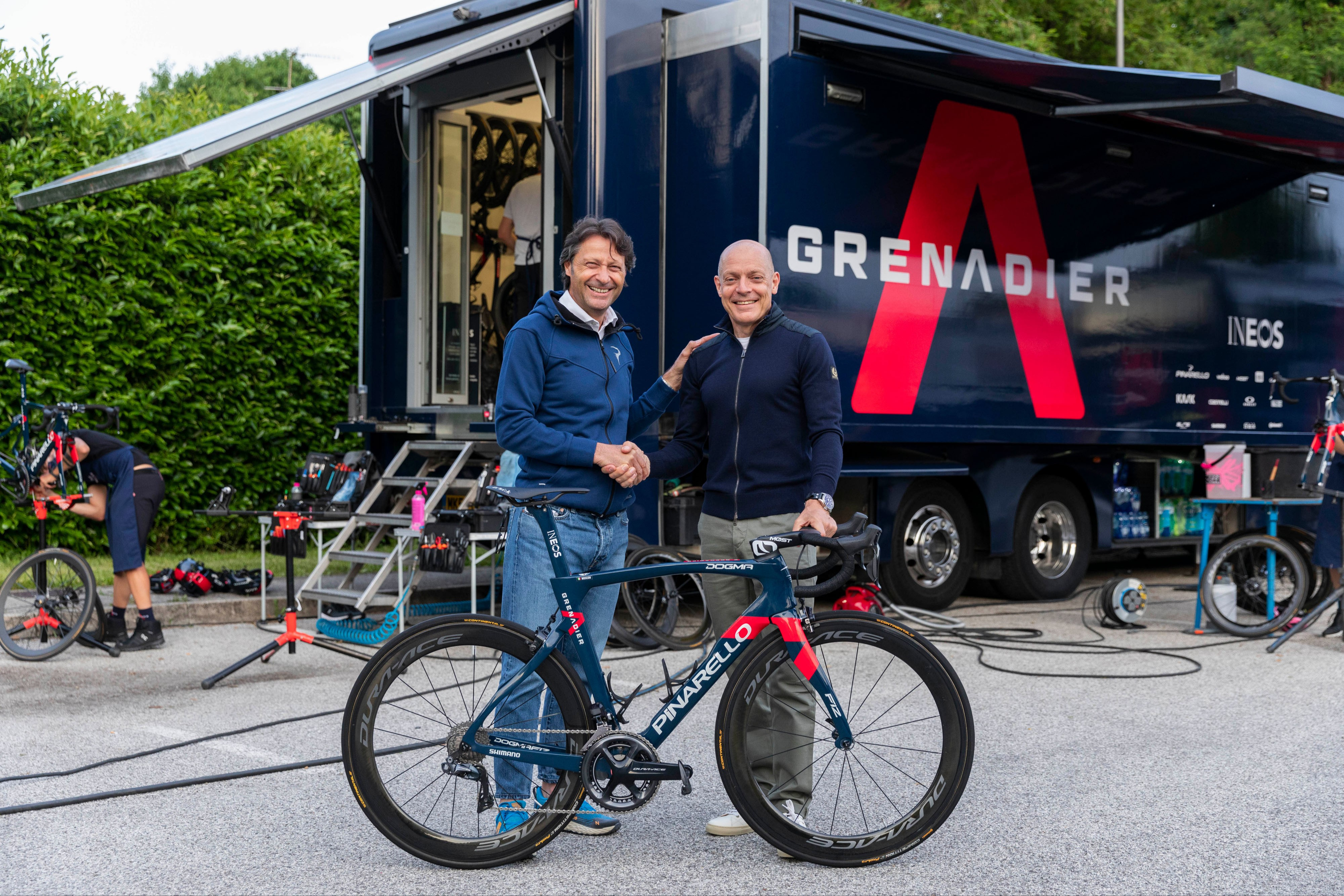 The Ineos Grenadiers will continue to race on Pinarello bikes for the next four seasons