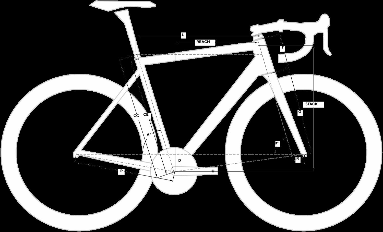 Nytro Road Ultegra Geometry