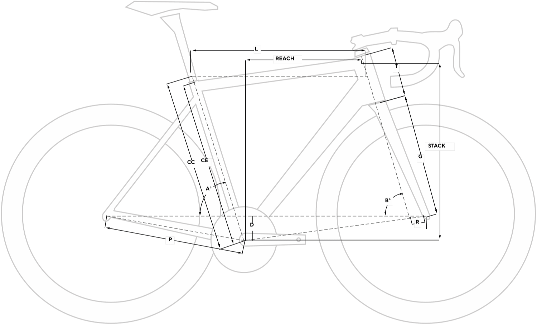 Bolide TR Ultegra Geometry